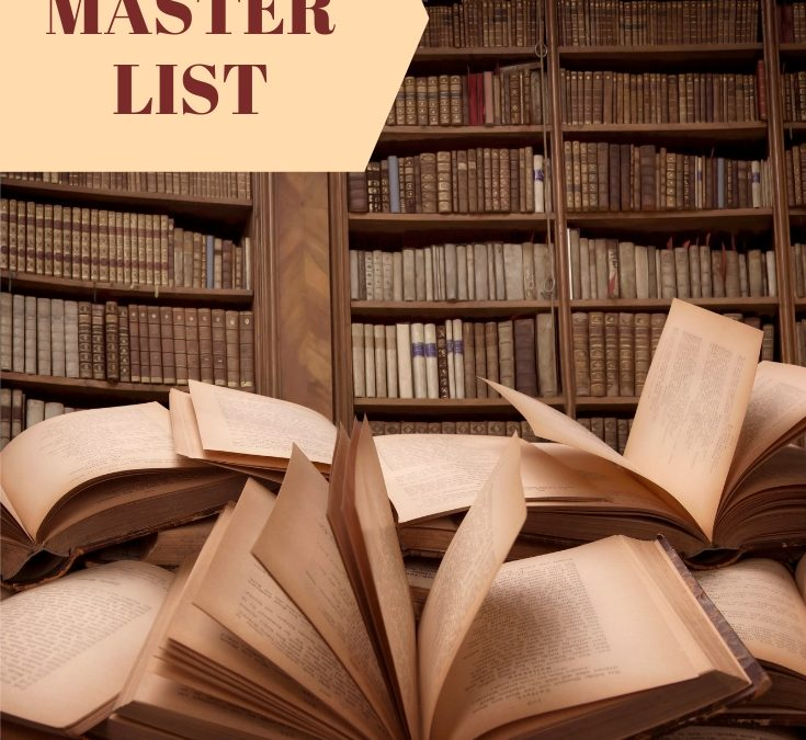 Master List of all RJ Scott books