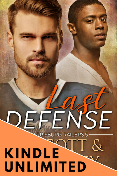 FOCUS ON… LAST DEFENSE (RAILERS MM HOCKEY #1) – KINDLE UNLIMITED FOR 90 DAYS ONLY