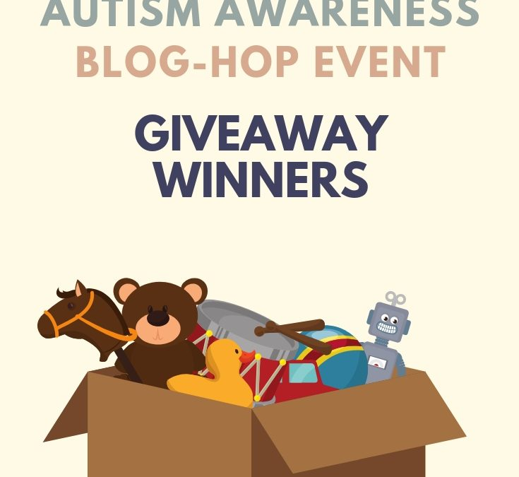 Autism Blog Hop Winners!