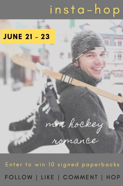 Instagram Hop – win ten paperbacks from MM Hockey Romance Authors