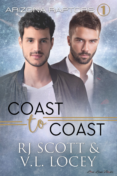 Cover and Blurb Reveal – Coast to Coast, Raptors 1, with VL Locey