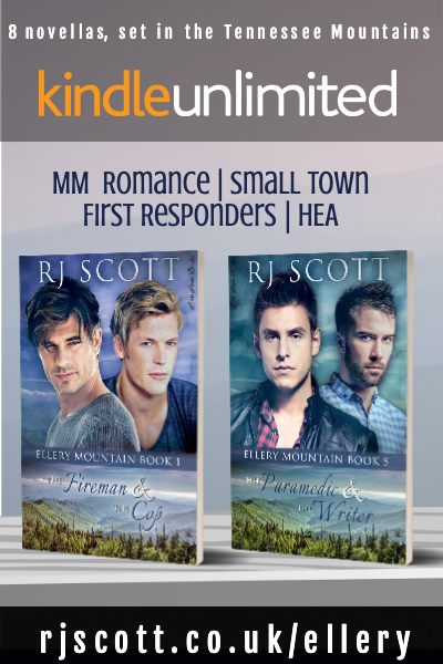 New to Kindle Unlimited – the entire Ellery Mountain Series