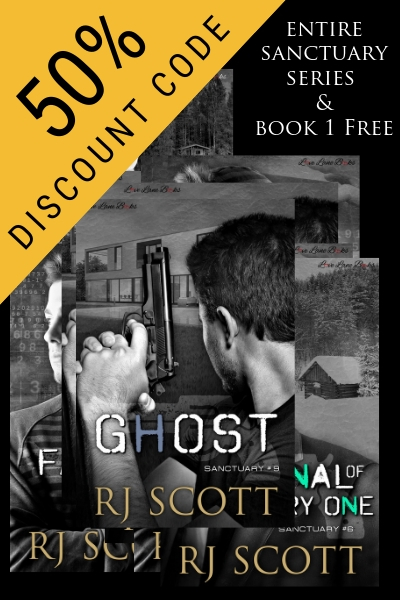 50% sale on Sanctuary – Action/Adventure, Bodyguards, Covert Operations – all at Smashwords with book 1 Free