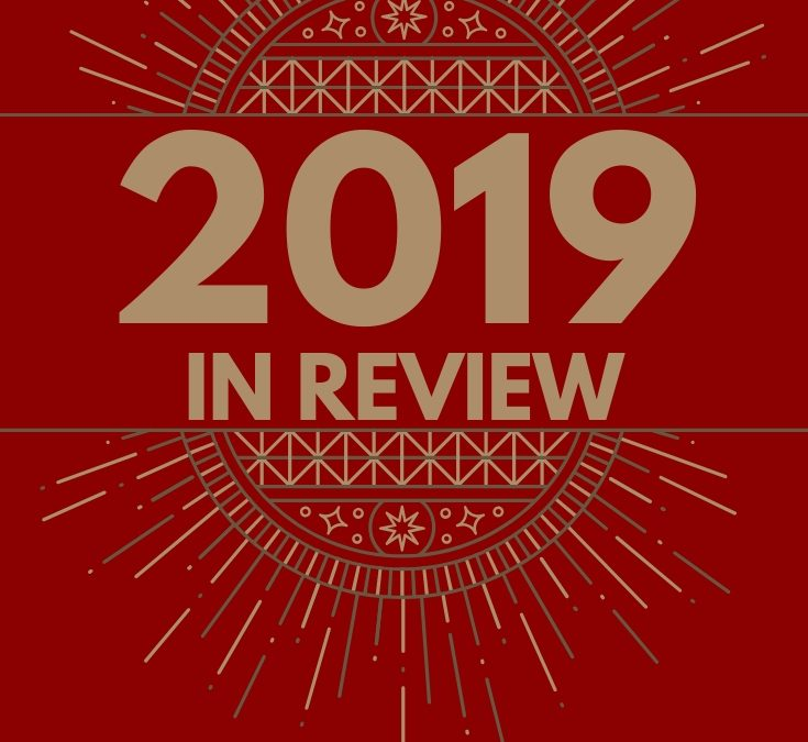 2019 In Review – Releases & Giveaway!