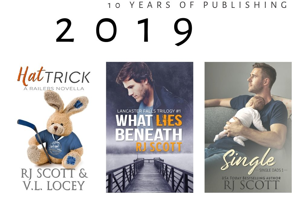 10 year celebration of being published – 2019