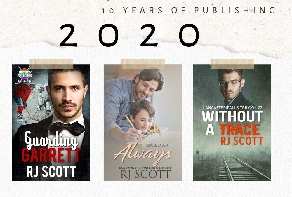 10 year celebration of being published – 2020