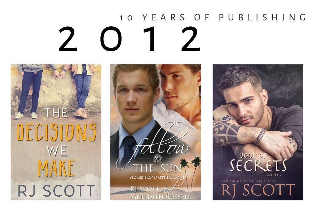 10 year celebration of being published – 2012