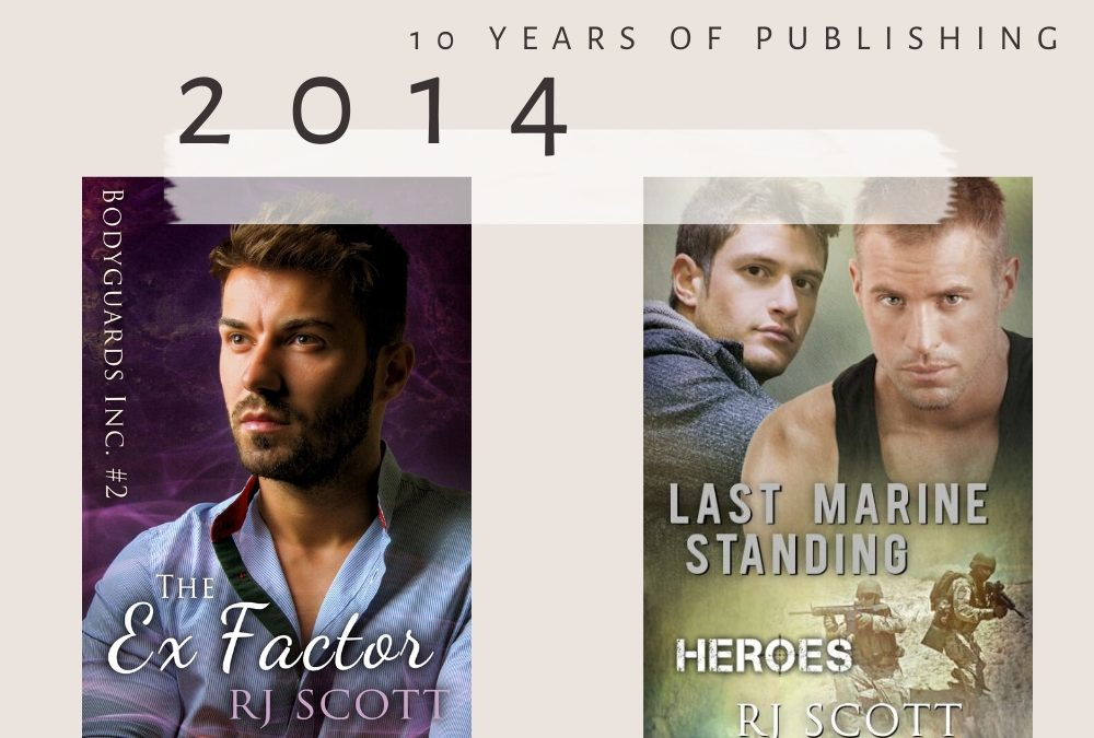 10 year celebration of being published – 2014