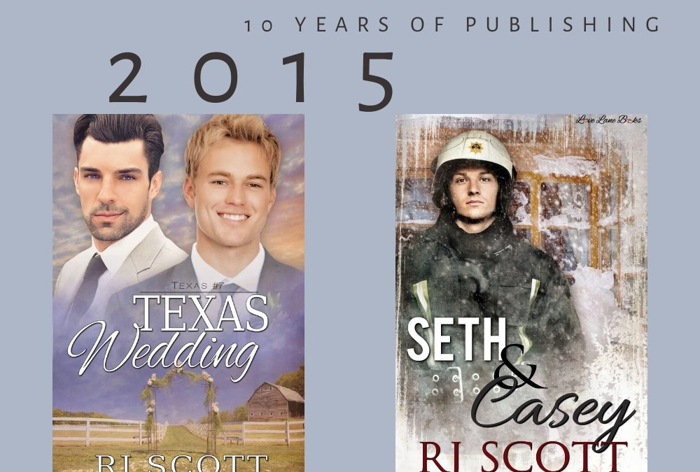 10 year celebration of being published – 2015