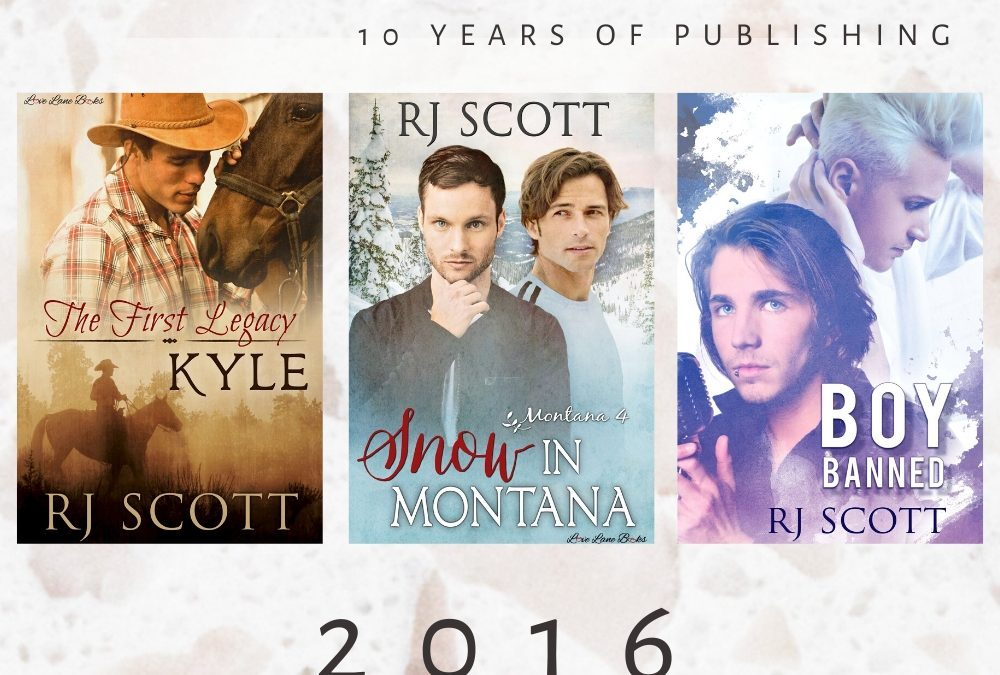 10 year celebration of being published – 2016