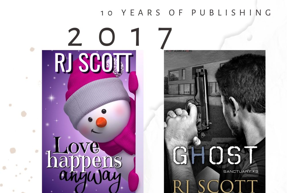 10 year celebration of being published – 2017