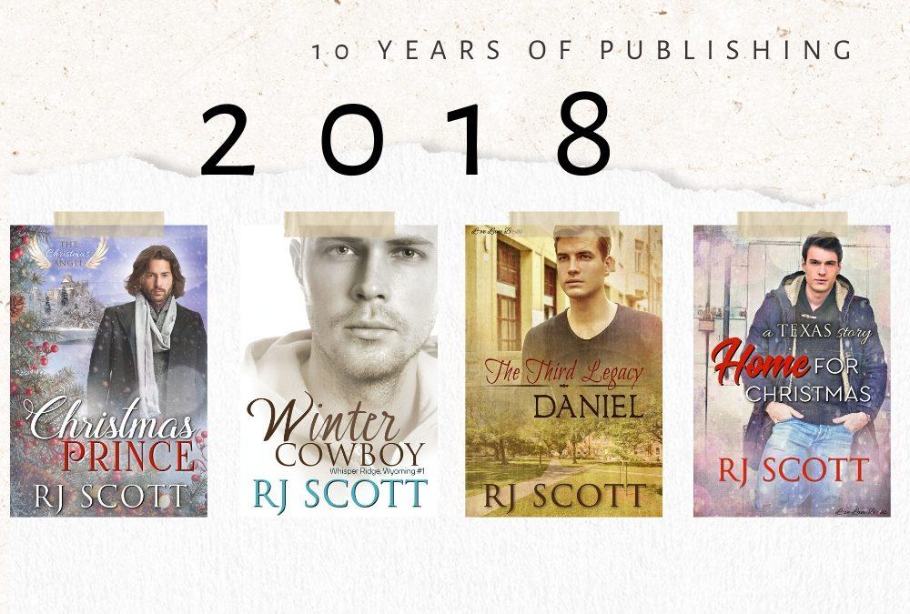 10 year celebration of being published – 2018