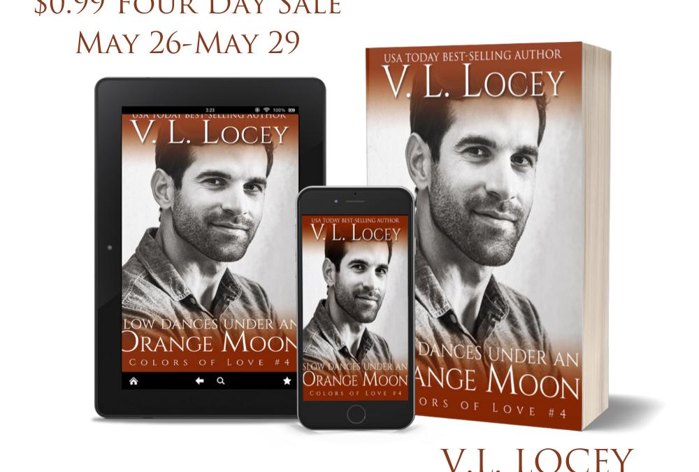 Slow Dances Under An Orange Moon – V.L. Locey