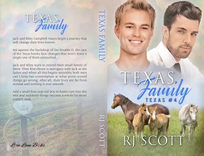 RJ Scott, MM Romance, Texas Series