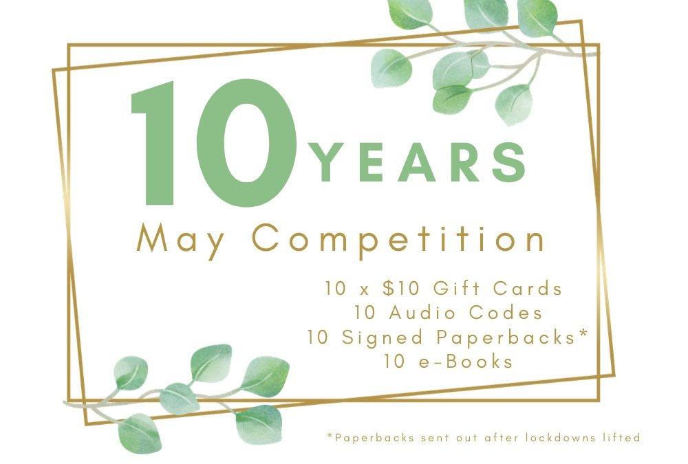 RJ Scott's Ten Year Publiversary – Competitions and Thanks