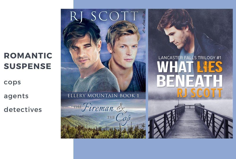 Romantic Suspense from RJ Scott – Police / Cops / Agents