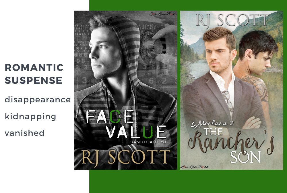 Romantic Suspense from RJ Scott – Disappearance/Kidnapping