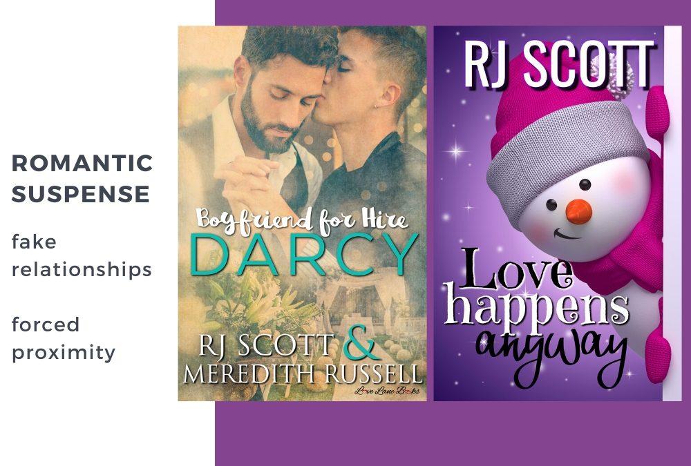 Romantic Suspense from RJ Scott – Fake Relationships