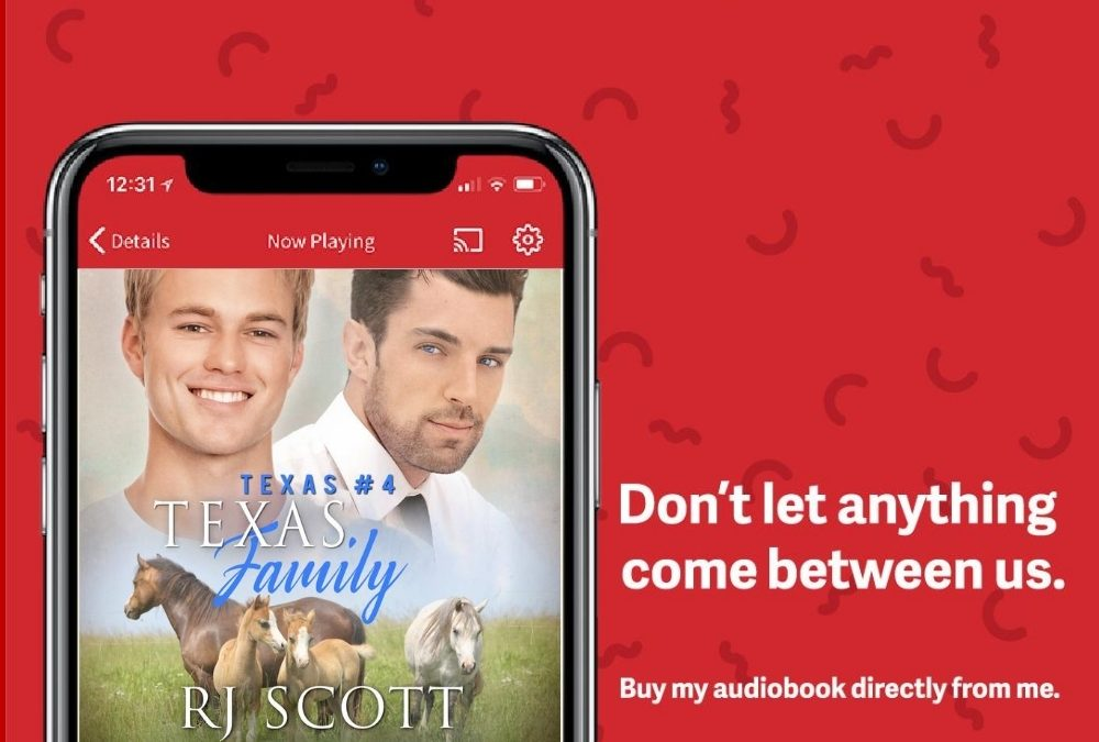 Discounted Audio direct from RJ Scott