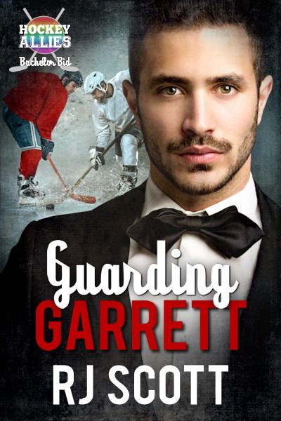 Guarding Garrett - Heroes Month - RJ Scott, MM Romance, Hockey Romance