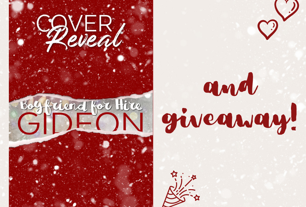 Cover Reveal & Giveaway – Gideon (Boyfriend For Hire #3)