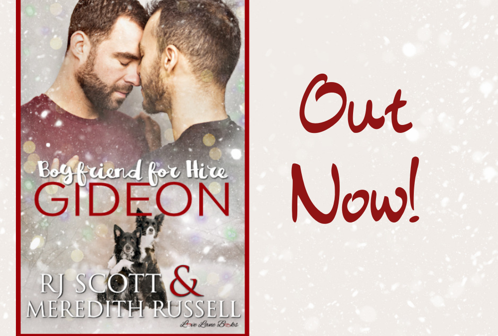 Gideon (Boyfriend For Hire #3) – OUT NOW!