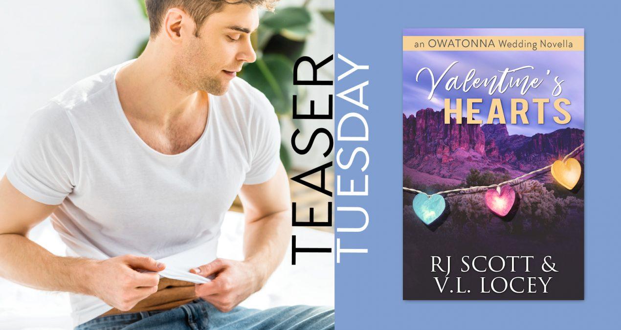 Teaser Tuesday – Valentine's Hearts (Owatonna Novella)