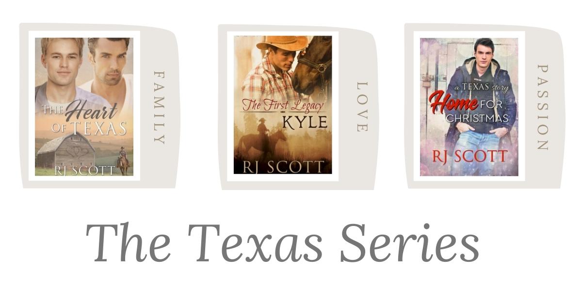 The Texas Series RJ Scott MM Romance Author