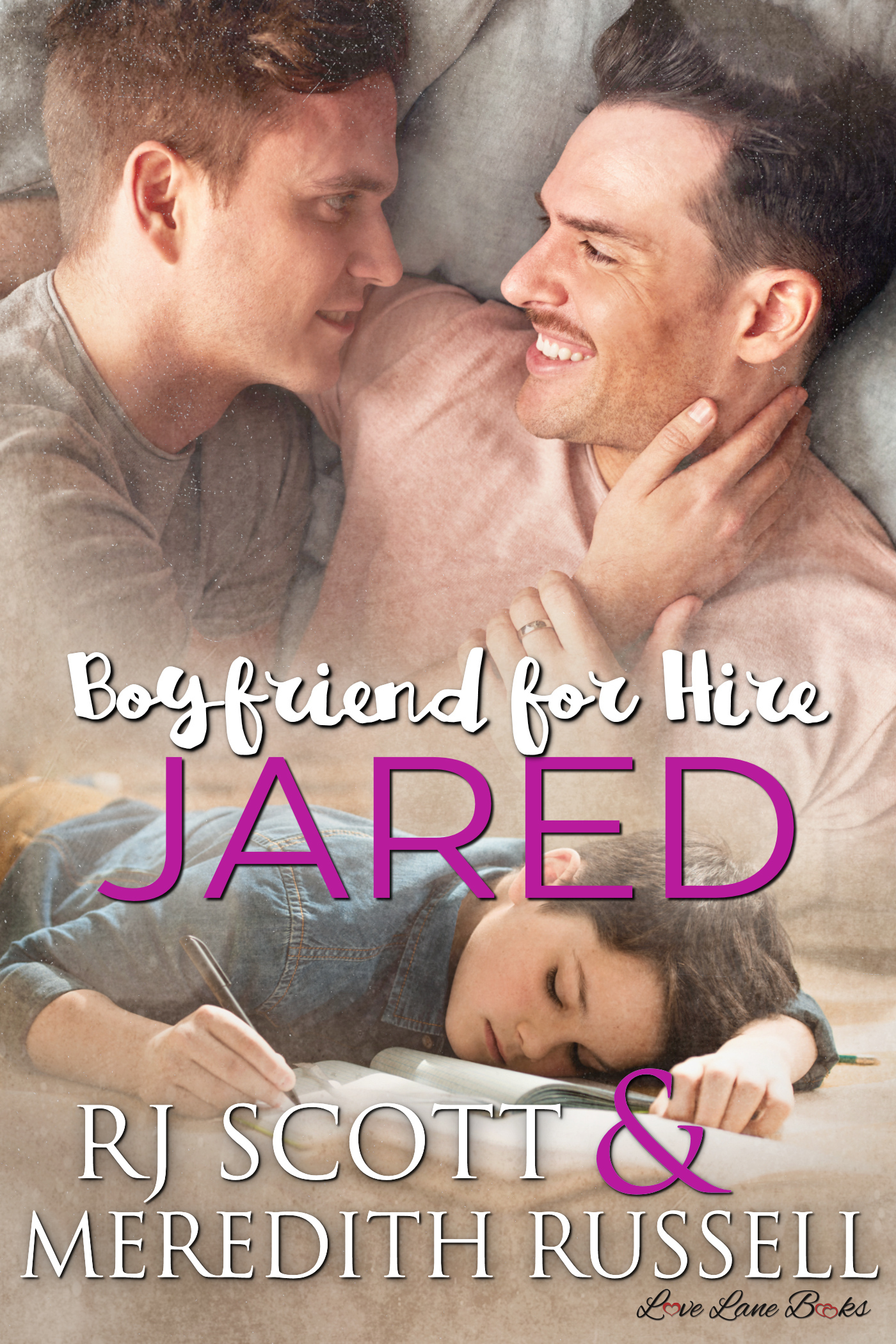 Jared Boyfriend for hire MMRomance RJ Scott Meredith Russell