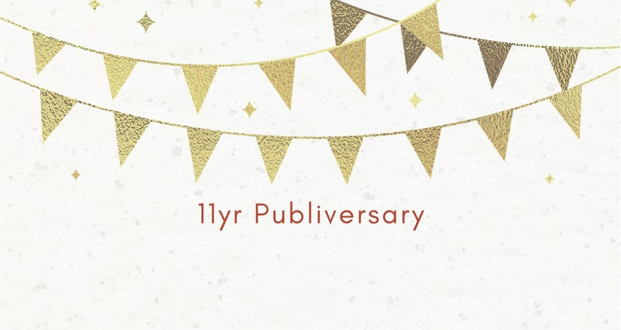 11 year publiversary
