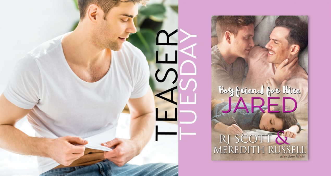 Teaser Tuesday – Jared (Boyfriend for Hire #4)
