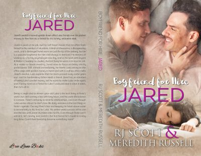 Jared Boyfriend for hire MMRomance RJ Scott Meredith Russell