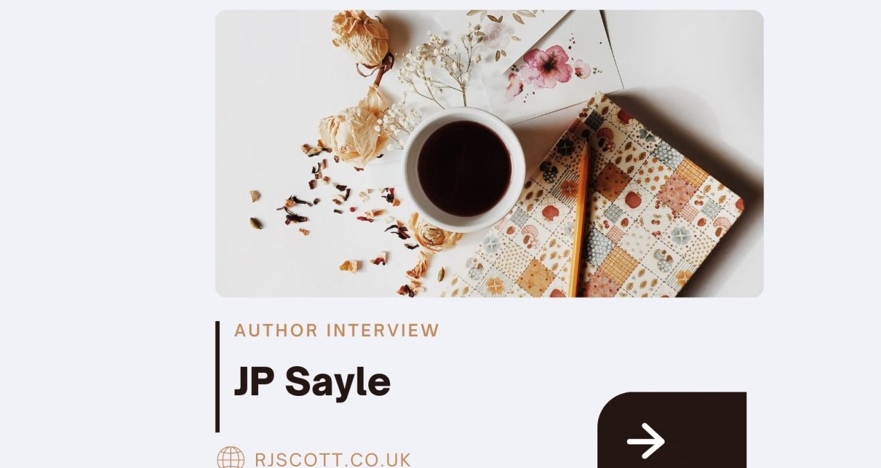 Author Interview & Competition: JP Sayle
