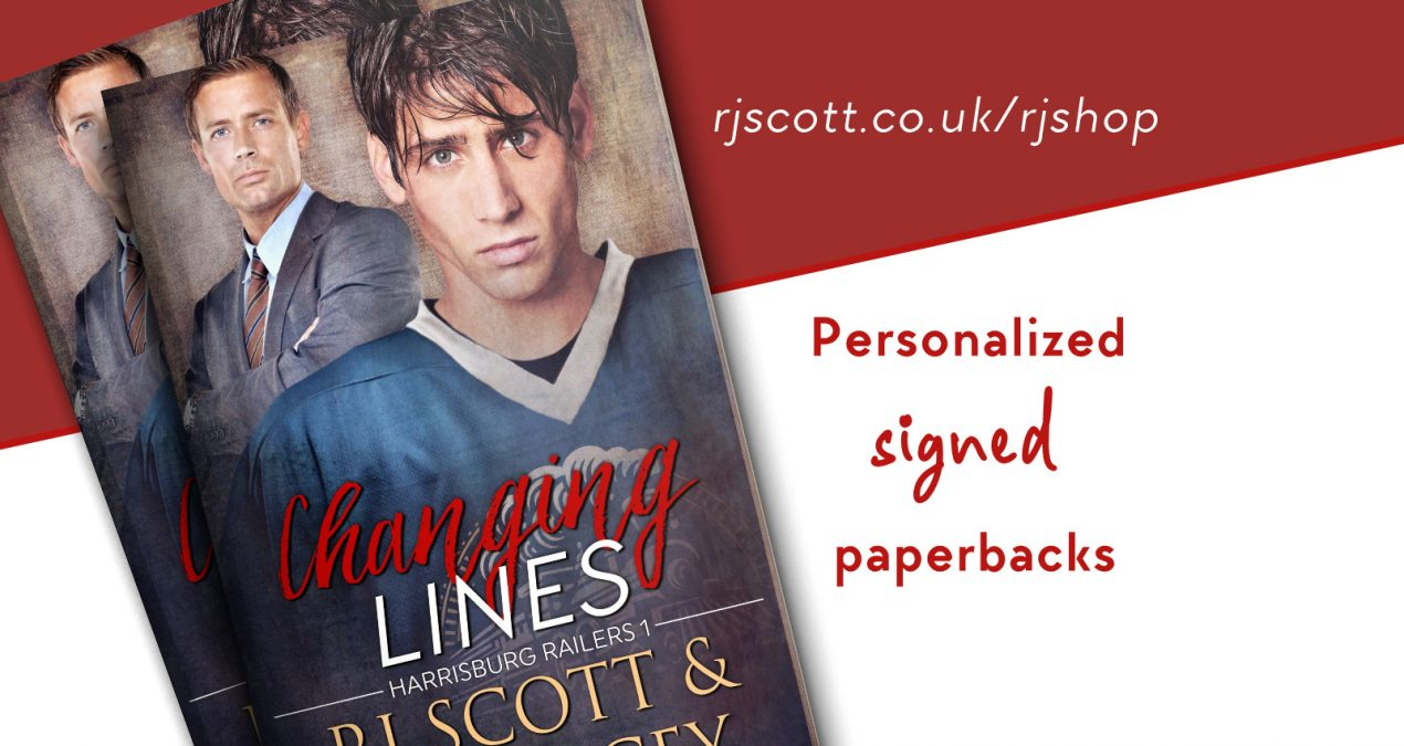 Signed Paperbacks – Available Now