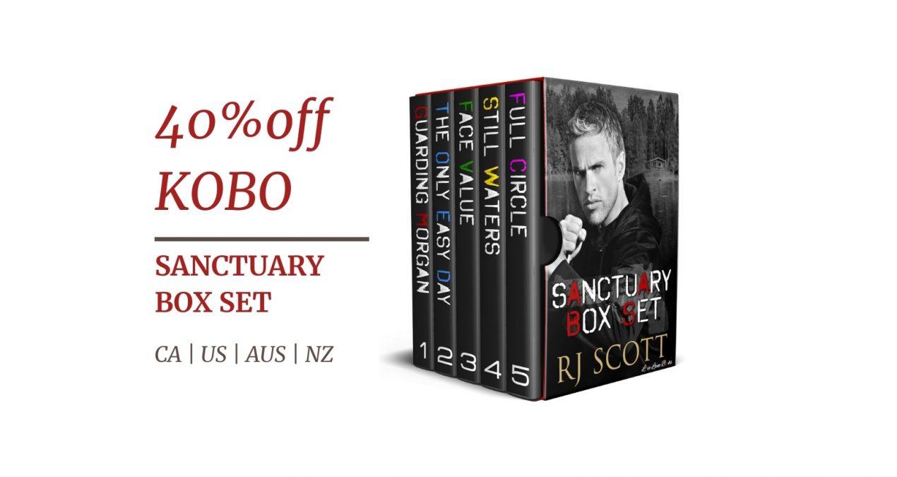 Kobo Sale – 40% off Sanctuary 1-5 Box Set (26 May – 1 June, 2021)