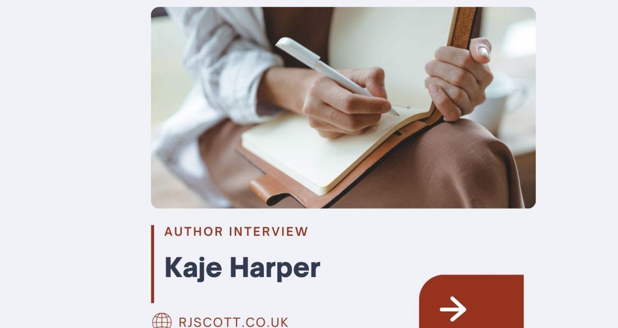 Author Interview – Kaje Harper