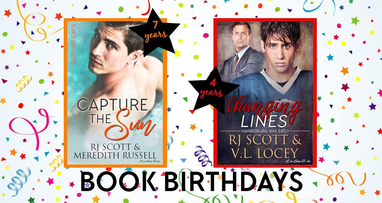 Book Birthdays – July