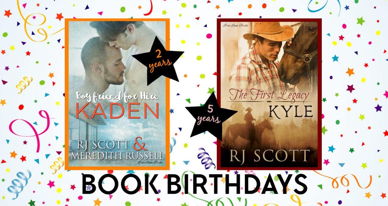 Book Birthdays – August