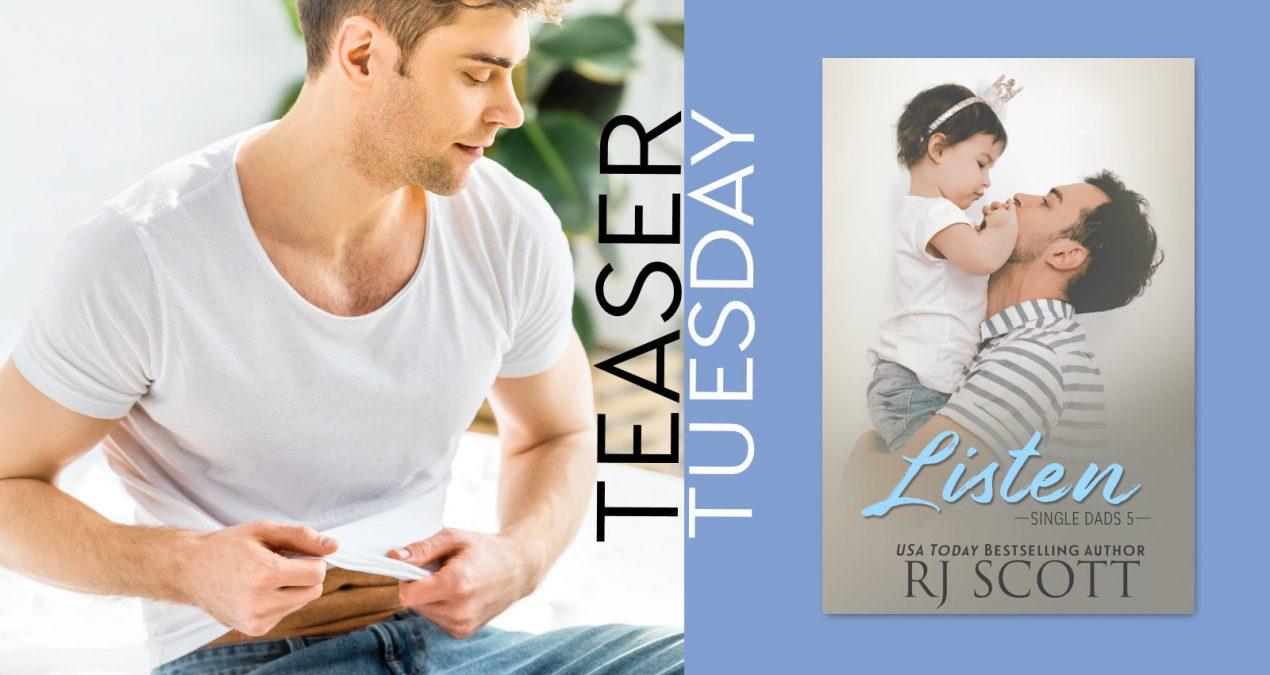 Teaser Tuesday – Listen (Single Dads 5)