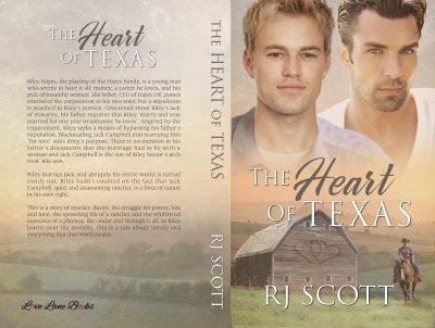 Texas 1 paperback RJ Scott MM Romance Author